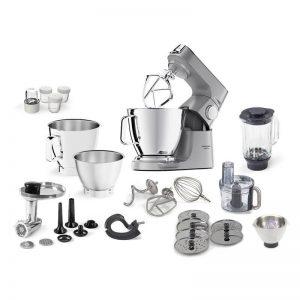 Kuchynský robot KENWOOD Titanium Chef Baker XL KVL85.704SI strieborný